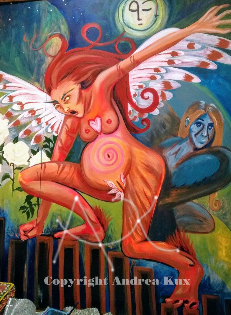 Andrea Kux  heilige weibliche Wut